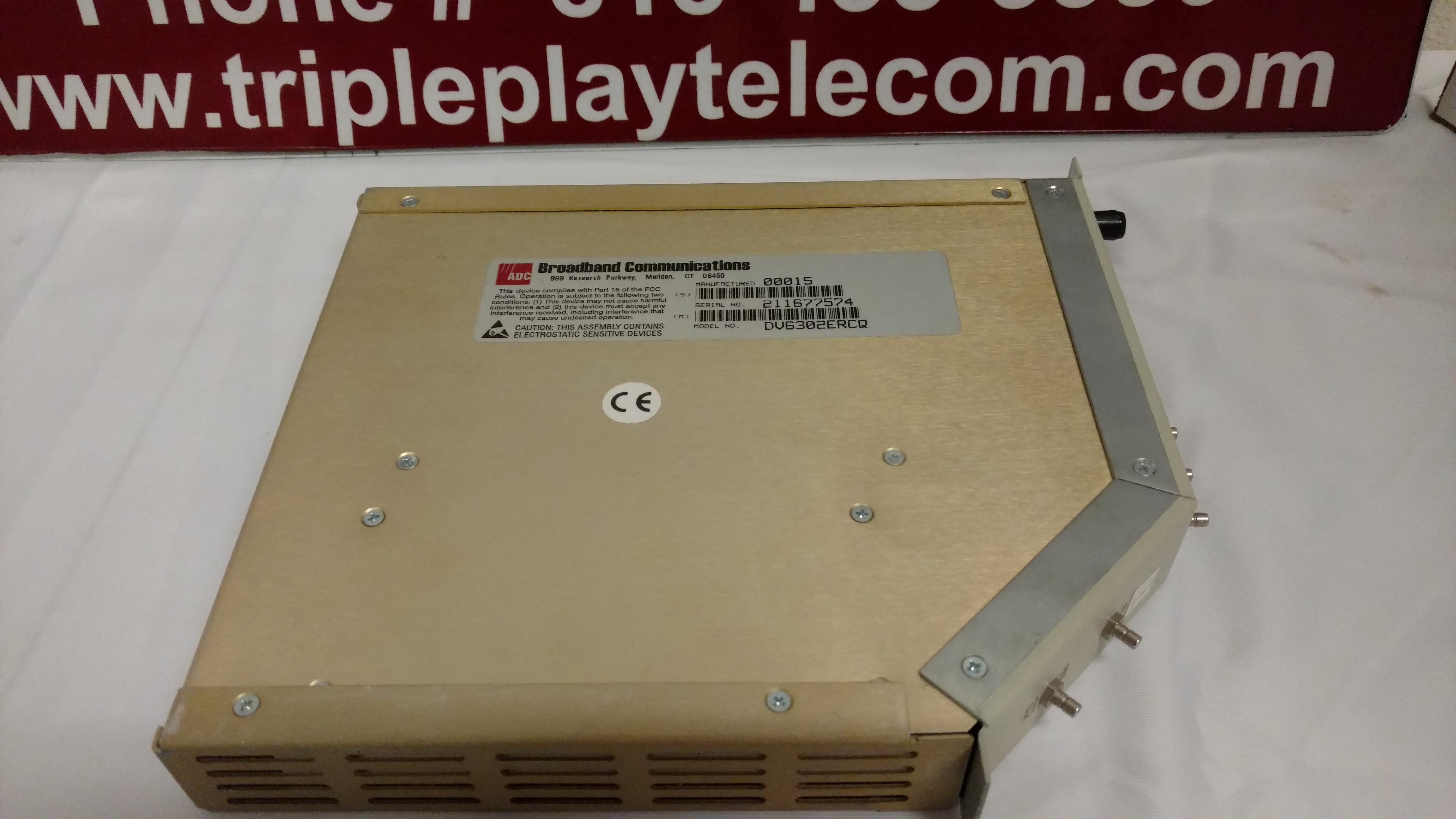 C-COR DV-6302-RCQ SM APD OPTICAL RECEIVER BROADBAND CARD VLTRBAB1AA Telecom