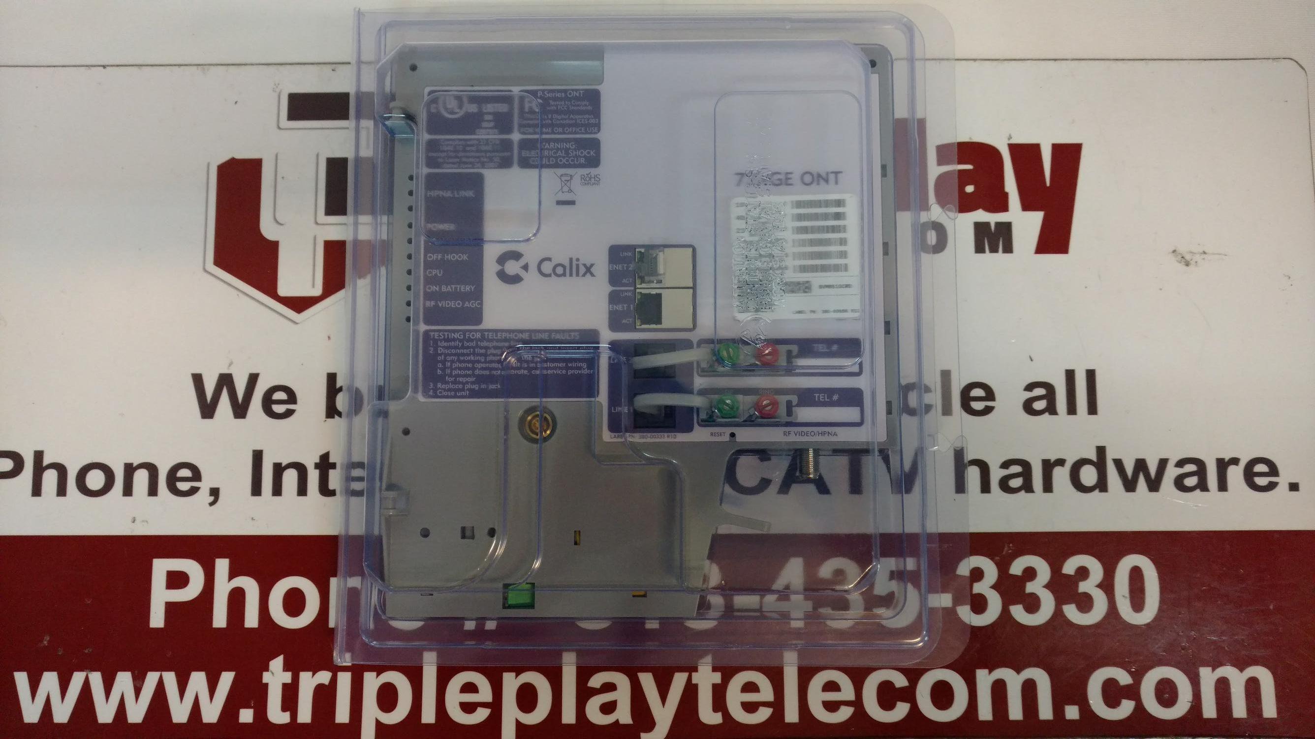 Details about Calix 722GE ONT 100-03251 2POTS/2GE/1RF/1HPNA Ports